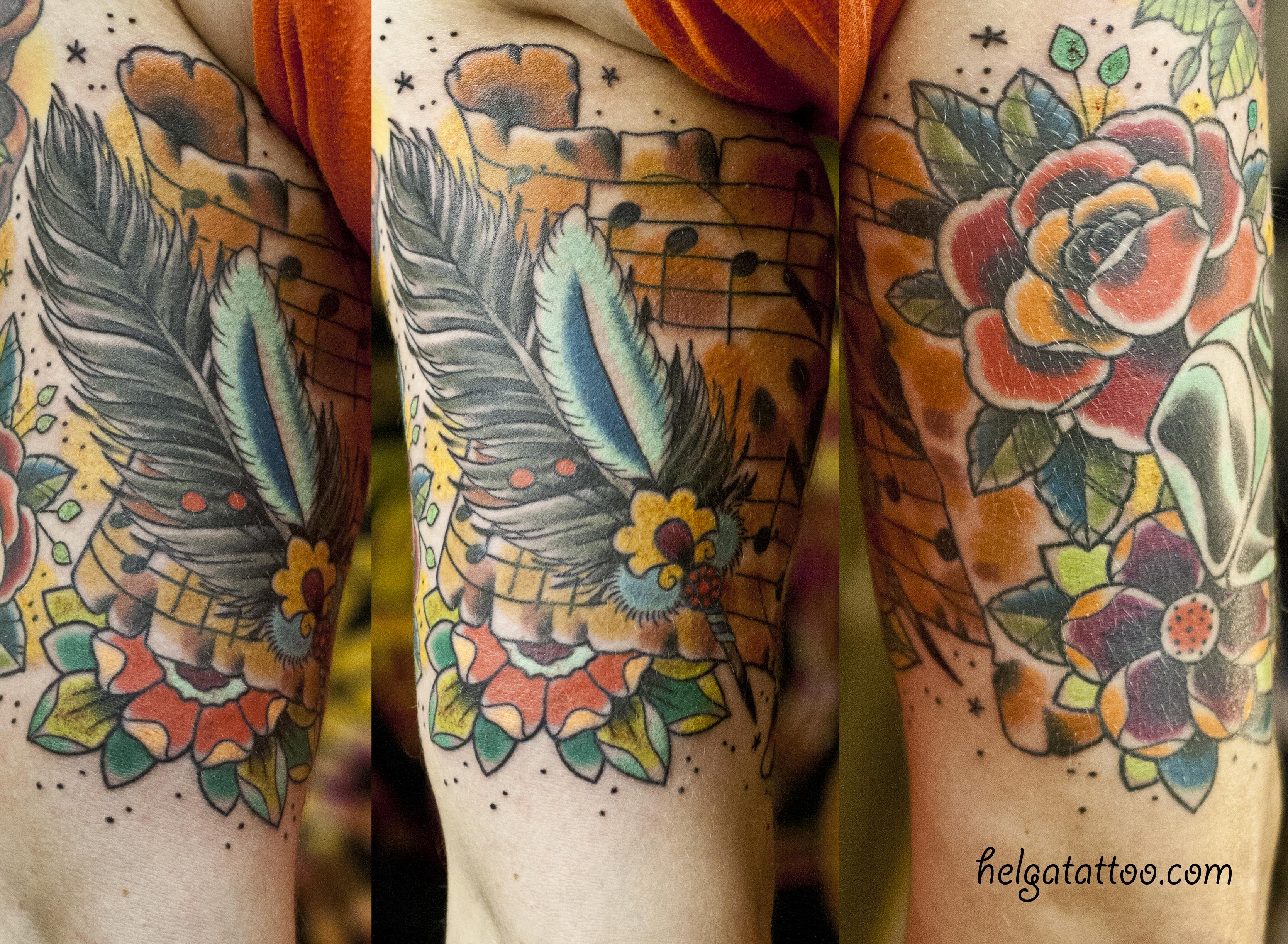 Тату в кельтском стиле татуировка