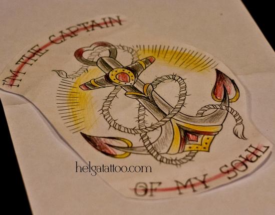 anchor ancla рисунок дизайн скетч но морскую тематику design sketch diseño old school neo traditional tattoo tatuaje тату в традиционном стиле традиция олд скул традишнл  татуировка в Санкт-Петербурге