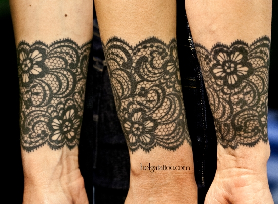 кружева cuff lace encaje flower flor орнамент растительный цветочный узор татуировка в Санкт-Петербурге  old school neo traditional tattoo tatuaje тату в традиционном стиле традиция олд скул традишнл