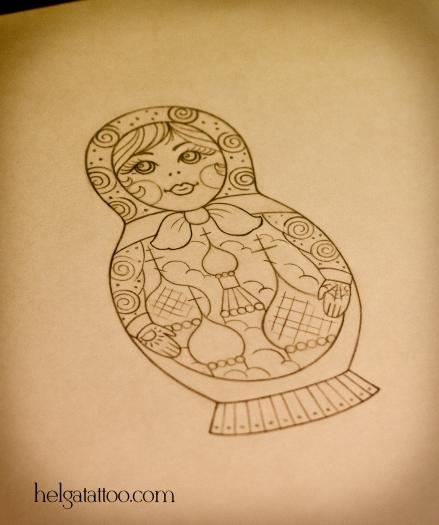 русский мотив купола масти рисунок дизайн скетч design sketch diseno old school neo traditional tattoo tatuaje тату в традиционном стиле традиция олд скул традишнл  matreshka babushka russian criminal tattoo