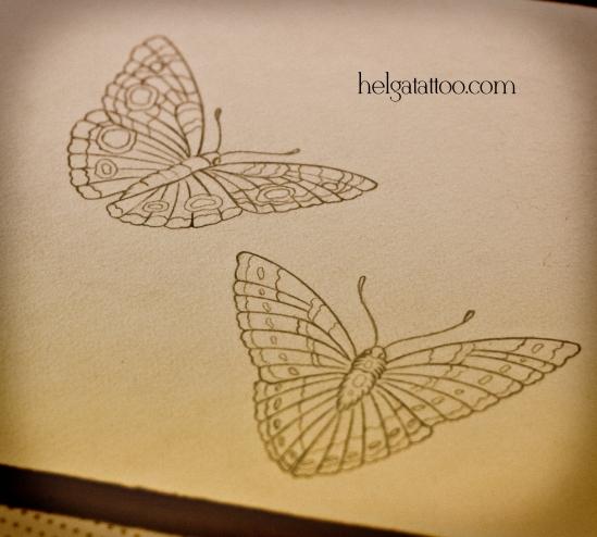 рисунок дизайн скетч бабочки butterfly mariposa design sketch diseno old school neo traditional tattoo tatuaje тату в традиционном стиле традиция олд скул традишнл в Санкт-Петербурге