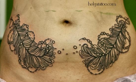 old school neo traditional tattoo feather tatuaje тату в традиционном стиле традиция олд скул традишнл   цветная татуировка  в Санкт-Петербурге