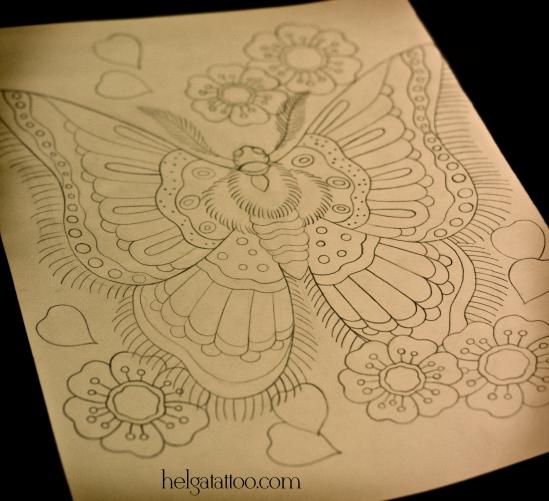 рисунок дизайн скетч butterfly mariposa farfalla design sketch diseno old school neo traditional tattoo tatuaje тату в традиционном стиле традиция олд скул традишнл   цветная татуировка  в Санкт-Петербурге