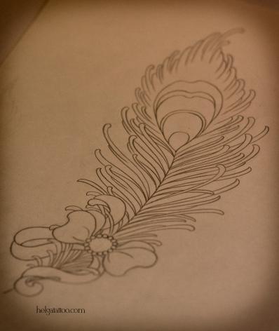 перышко золотое перо бантик бант feather gold bow эскиз рисунок дизайн скетч design sketch diseno old school neo traditional tattoo tatuaje тату в традиционном стиле традиция олд скул традишнл   цветная татуировка  в Санкт-Петербурге