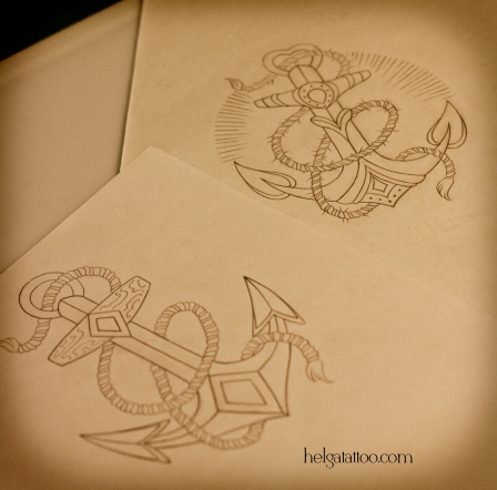эскиз рисунок дизайн скетч якорь якоря sea sailor anchor ancla design sketch diseno old school neo traditional tattoo tatuaje тату в традиционном стиле традиция олд скул традишнл   цветная татуировка  в Санкт-Петербурге